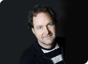 Ett porträtt av Håkan Borgström.