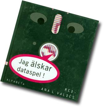 Omslag i form av illustration som föreställer en diskett.