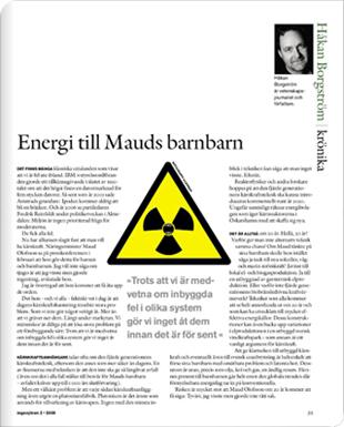 Läs om energi till Mauds barnbarn